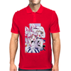 Sailor Chibi Moon and Saturn White Version Mens Polo