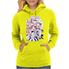 Sailor Chibi Moon and Saturn White Version Womens Hoodie