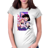 Sailor Chibi Moon and Saturn Womens Fitted T-Shirt