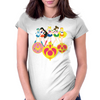 Sailor Soldiers Womens Fitted T-Shirt