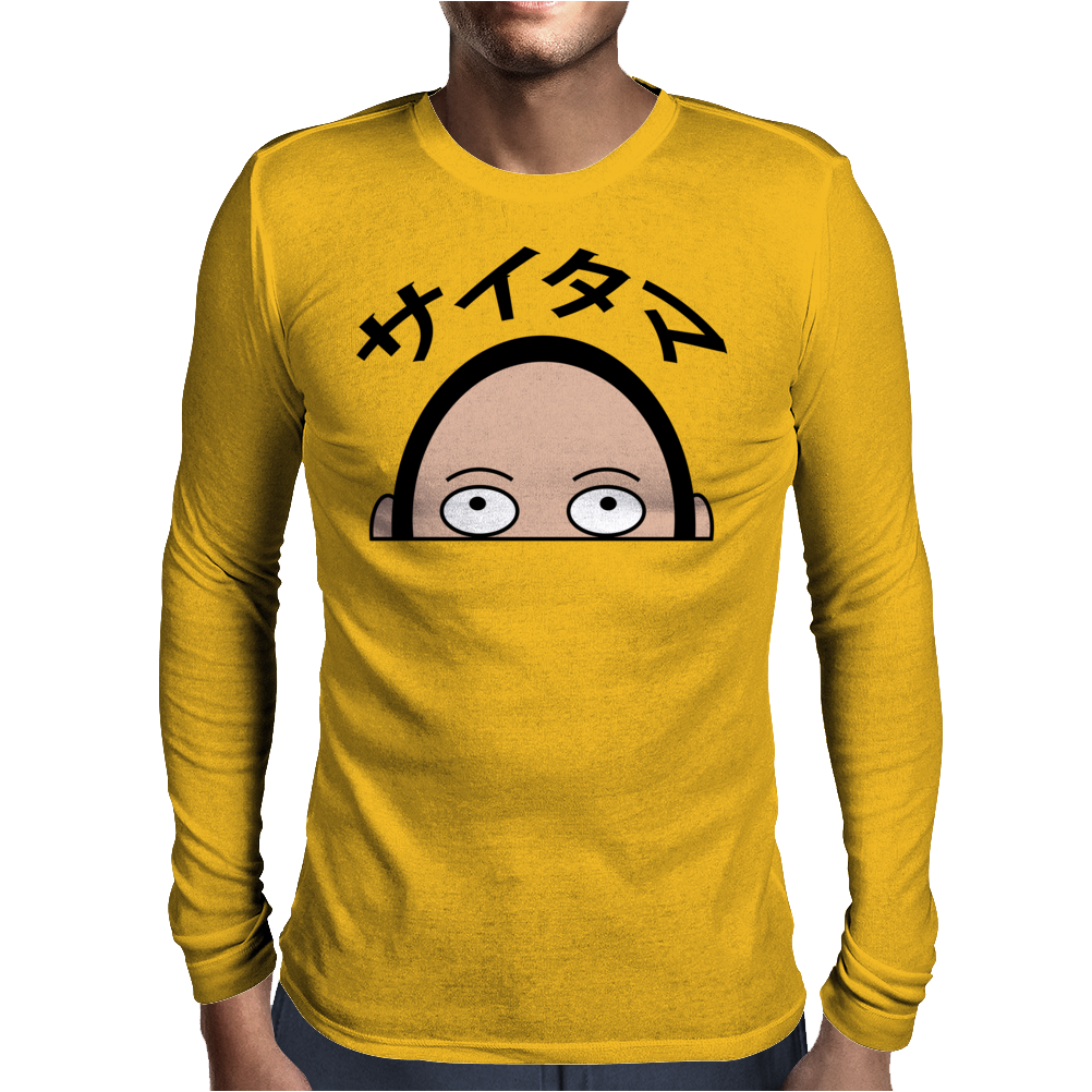 Saitama Mens Long Sleeve T-Shirt