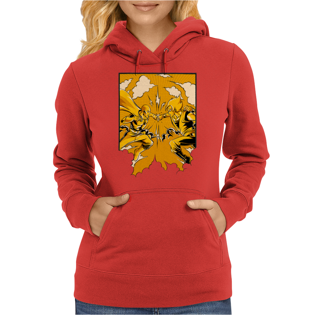 Saitama vs Goku Ultimate Womens Hoodie