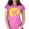 Saiyajin Affe Dragonball Z Womens Fitted T-Shirt