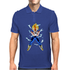 saiyan warriors Mens Polo
