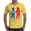 Saiyan Warriors Mens T-Shirt