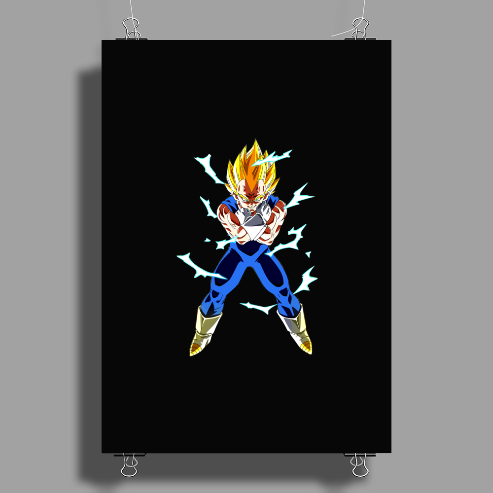 saiyan warriors Poster Print (Portrait)