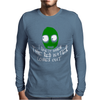 Salad Fingers Red Water Mens Long Sleeve T-Shirt