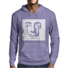 Salvador Dali Face Surrealist Artist Mens Hoodie