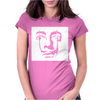 Salvador Dali Face Surrealist Artist Womens Fitted T-Shirt