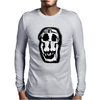 Salvador Dali Woman Skull Artists Funny Mens Long Sleeve T-Shirt