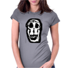 Salvador Dali Woman Skull Artists Funny Womens Fitted T-Shirt