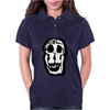 Salvador Dali Woman Skull Artists Funny Womens Polo