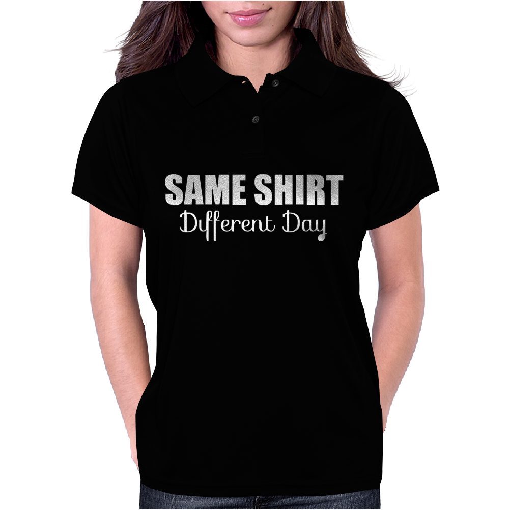 same different day Womens Polo