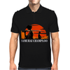 Samurai Champloo Japanese Anime Manga Mens Polo