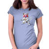 Samurai Pizza Cats Womens Fitted T-Shirt