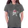 Samurai Pizza Cats Womens Polo
