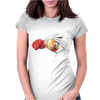 samurai Womens Fitted T-Shirt