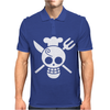 Sanji Flag One Piece Mens Polo