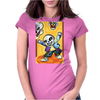 Sans Art Womens Fitted T-Shirt