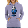Sans Cartoon Style Womens Hoodie