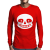Sans Head Mens Long Sleeve T-Shirt