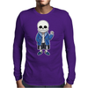 Sans Mens Long Sleeve T-Shirt