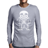Sans the skeleton v2 Mens Long Sleeve T-Shirt