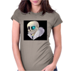 sans under Womens Fitted T-Shirt