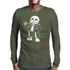 Sans v2 Mens Long Sleeve T-Shirt