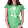 Sans v2 Womens Fitted T-Shirt