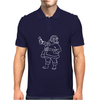 santa claus christmas Mens Polo