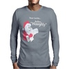 Santa Define Naughty Mens Long Sleeve T-Shirt