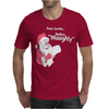 Santa Define Naughty Mens T-Shirt