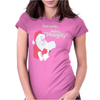 Santa Define Naughty Womens Fitted T-Shirt