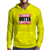 Santa is coming Straight Outta North Pole Mens Hoodie