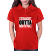 Santa is coming Straight Outta North Pole Womens Polo