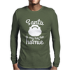 Santa Is My Ho-Ho Homie Mens Long Sleeve T-Shirt