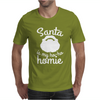 Santa Is My Ho-Ho Homie Mens T-Shirt