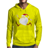 Santa Running For Christmas Mens Hoodie