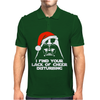 Santa Star Wars Mens Polo