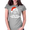 Santa Star Wars Womens Fitted T-Shirt