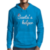 Santa's Helper Cute Christmas Mens Hoodie