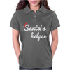Santa's Helper Cute Christmas Womens Polo