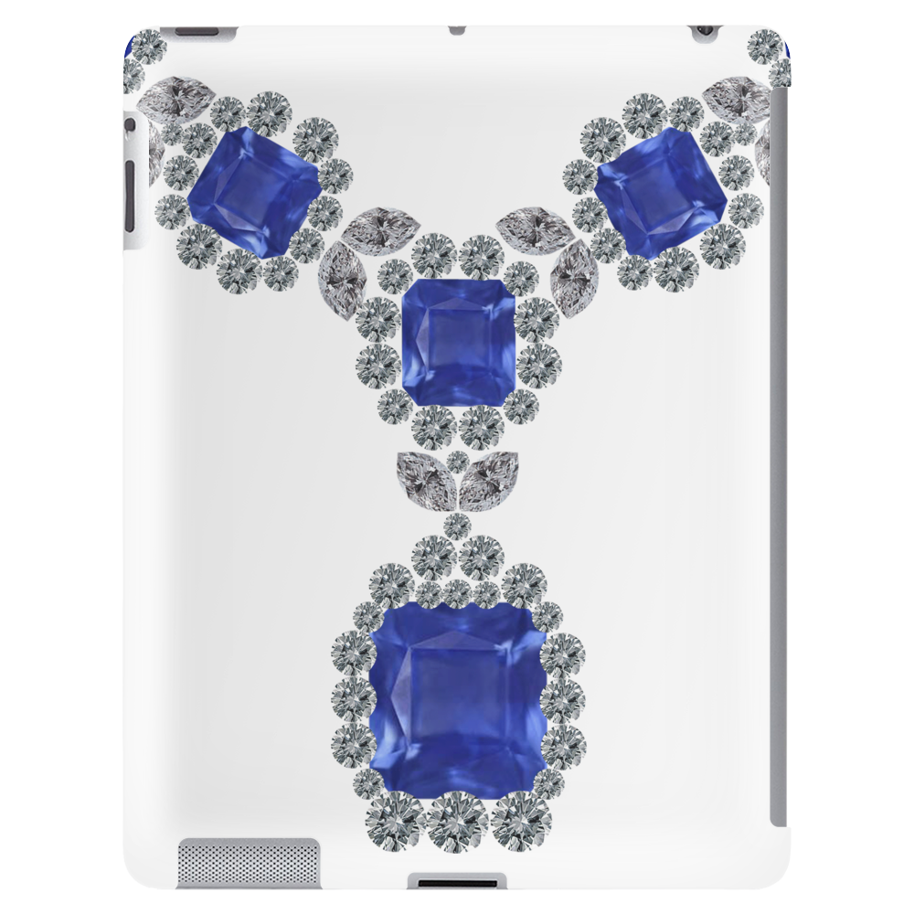 Sapphire and Diamond Necklace Tablet