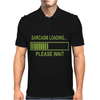 Sarcasm Loading Funny Computer Tech Gee Mens Polo