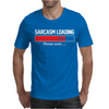 Sarcasm Loading, Mens Funny Mens T-Shirt