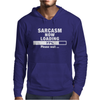 SARCASM NOW LOADING Mens Hoodie