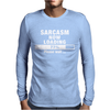 SARCASM NOW LOADING Mens Long Sleeve T-Shirt
