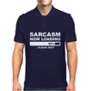 SARCASM NOW LOADING Mens Mens Polo