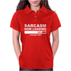 SARCASM NOW LOADING Mens Womens Polo
